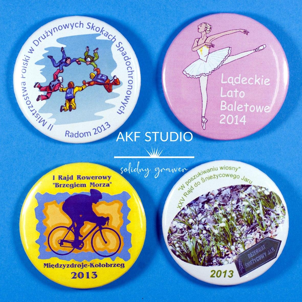 buttony znaczki przypinki