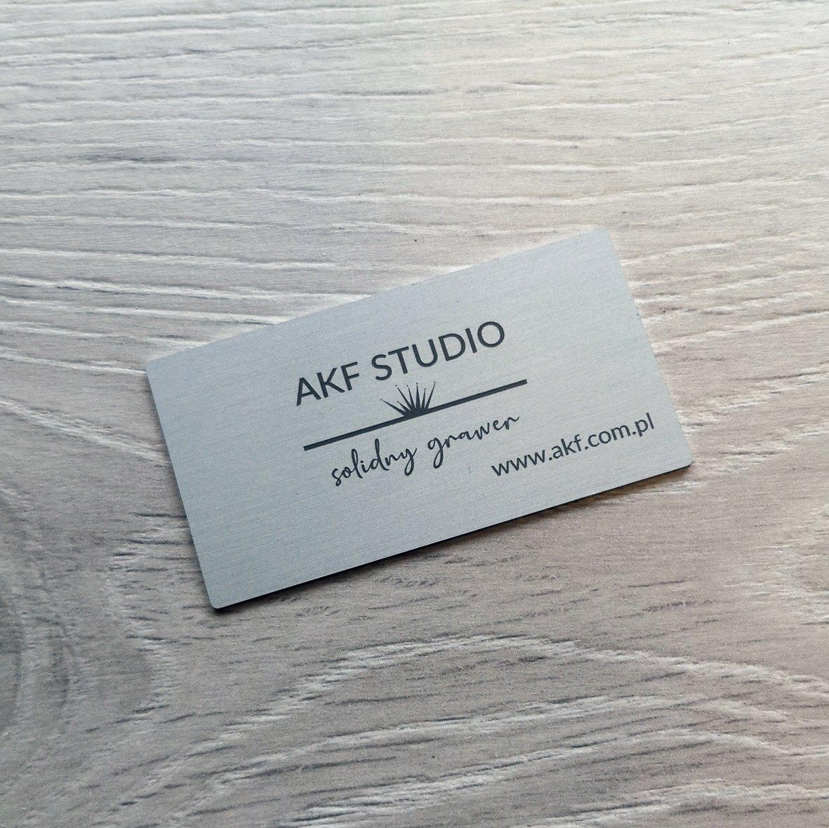 logo aluminium srebrne